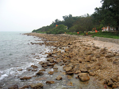 Bãi đá hòn Dấu - Đồ Sơn