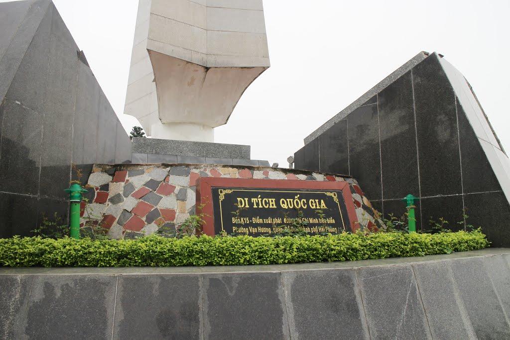 Bến K15 - điểm xuất phát của con đường Hồ Chí Minh huyền thoại trên biển